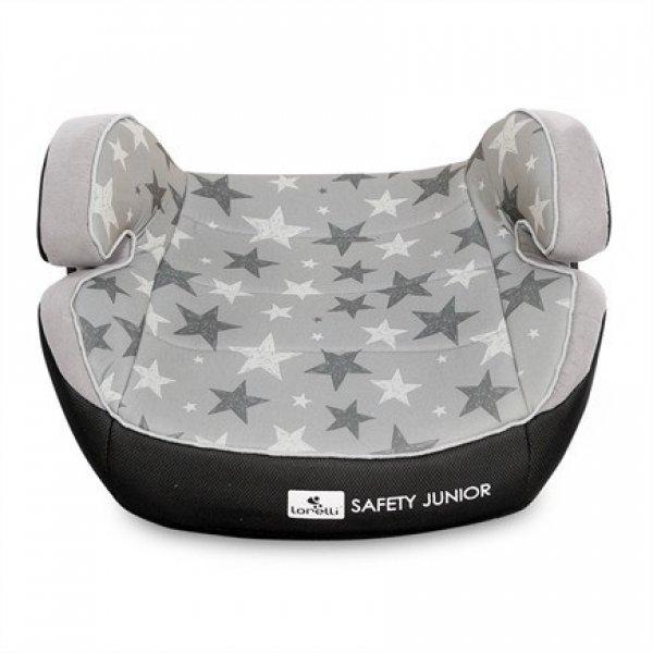 Бустер Lorelli Safety Junior Fix (15-36 кг) Серый