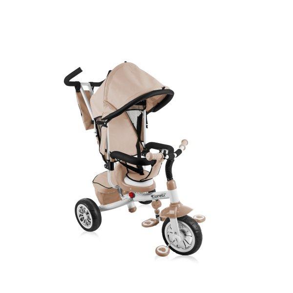 Трехколесный велосипед Bertoni B302a beige/grey