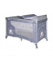 Кровать-манеж Lorelli Moonlight 2 Layers Синий