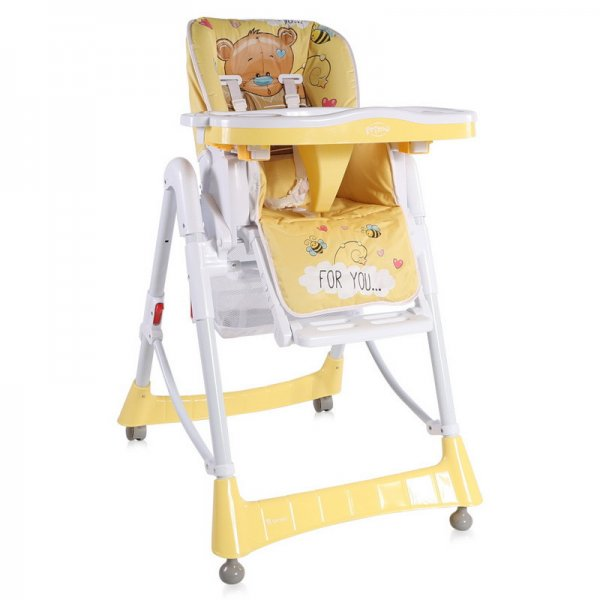 Стульчик для кормления Lorelli Primo yellow bear