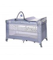 Кровать-Манеж Lorelli Torino 2 Layer Plus Синий