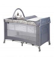 Кровать-манеж Lorelli Verona 2 Layers Plus Серый