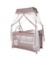 Кровать - манеж с балдахином Lorelli Magic Sleep