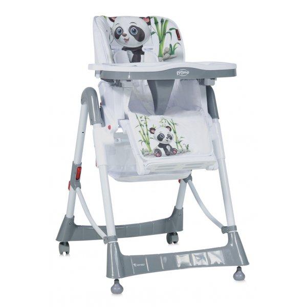 Стульчик для кормления Lorelli Primo Grey Panda