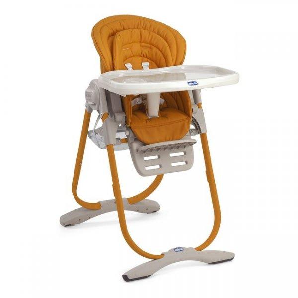 Стульчик для кормления Chicco Polly Magic оранжевый (79090.76)