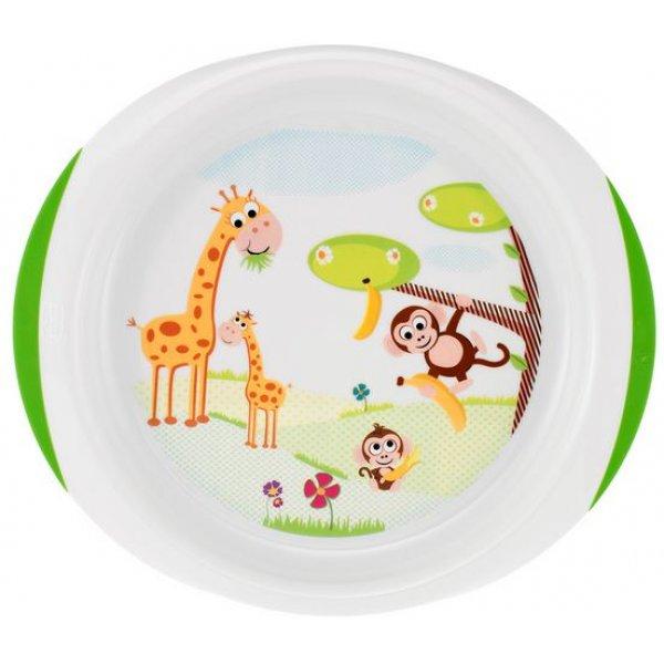 Набор тарелок Chicco (2 шт), 12м+