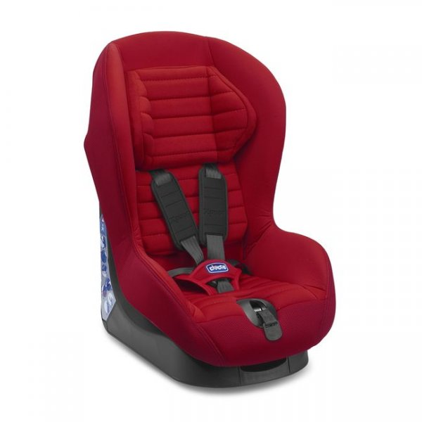 Автокресло Chicco X-Pace красное (79240.78)