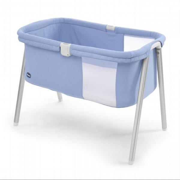 Детская кроватка-манеж Chicco Lulla Go голубой (79812.09)