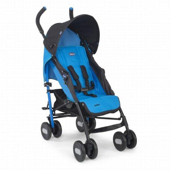 Коляска трость Chicco Echo Stroller голубая (79310.48)