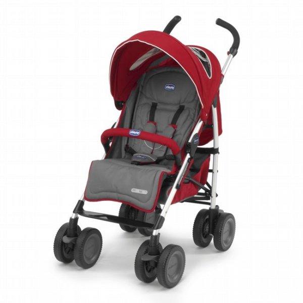 Прогулочная коляска Chicco Multiway Evo красный (79315.70)