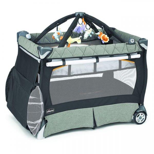 Кроватка-манеж Chicco Lullaby LX зеленый (79059.50)