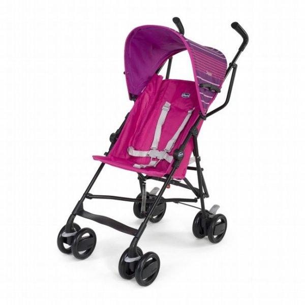 Коляска трость Chicco Snappy Stroller розовая (79257.05)