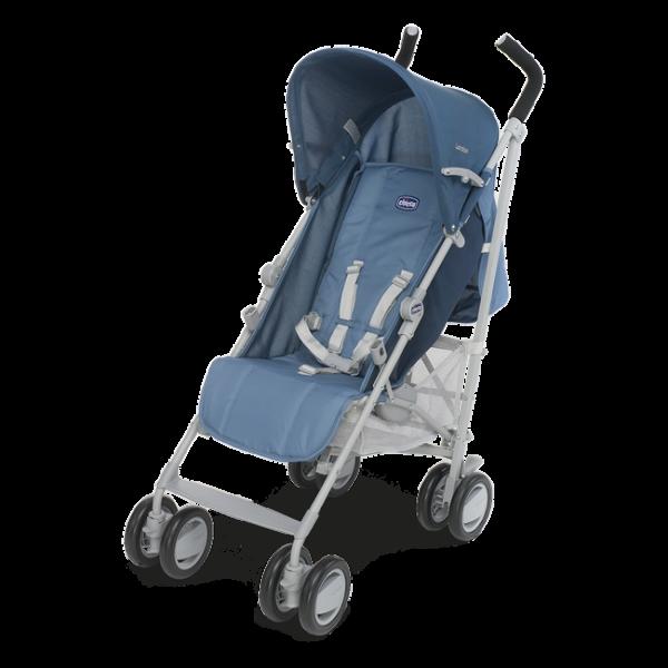 Прогулочная коляска Chicco London голубой (79251.80)