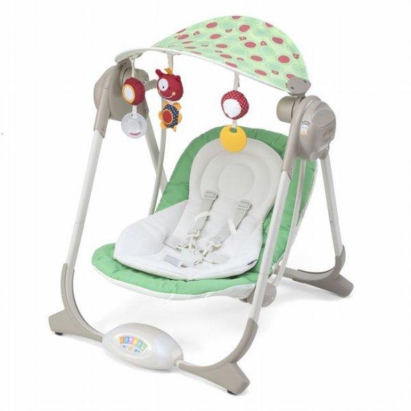 Кресло-качалка Chicco Polly Swing зеленый (67691.03)