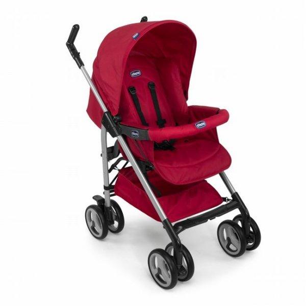 Прогулочная коляска Chicco Sprint Stroller красная (79364.93)