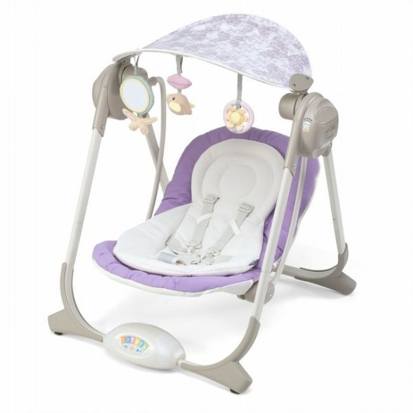 Кресло-качалка Chicco Polly Swing фиолетовый (67691.41)