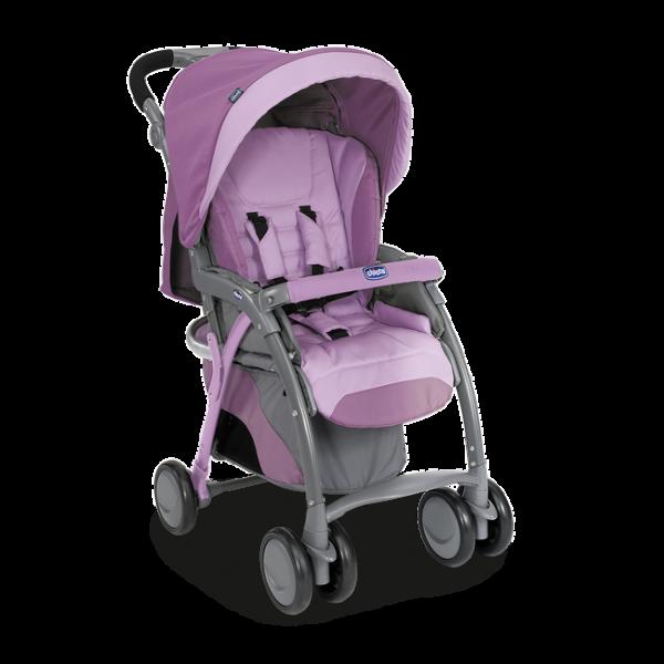 Прогулочная коляска Chicco Simplicity Plus Top фиолетовый (79482.20)