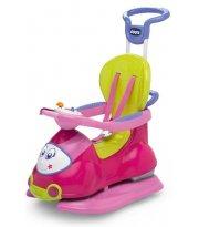 Автомобиль-качалка Chicco Quattro Pink