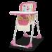 Стульчик для кормления Chicco Polly 2 in 1 розовый (79065.42)