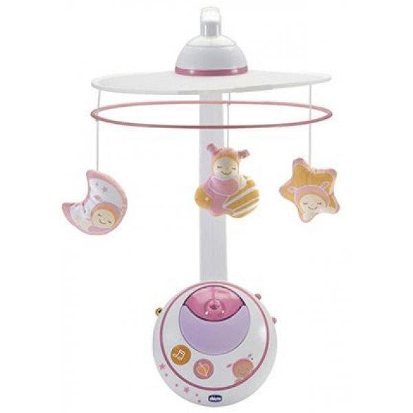 Мобиль на кроватку Chicco Волшебные звёздочки (розовый)