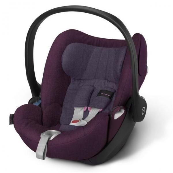 Автокресло Cybex Cloud Q PLUS, цвет Grape Juice-purple