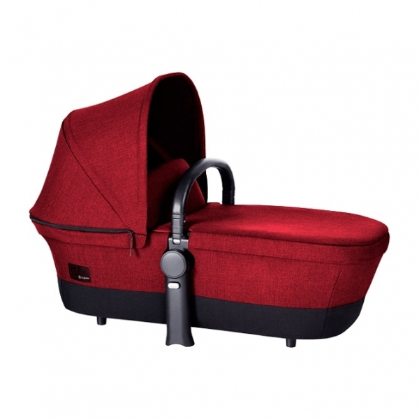 Люлька для новорожденных Cybex Priam Carry Cot, цвет Hot & Spicy Denim-red