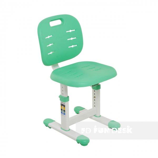 Детский стул FunDesk SST2 Green-S (жесткая фиксация)