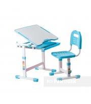 Комплект парта и стул-трансформеры FunDesk Sole Blue