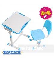 Растущая детская парта со стульчиком Cubby Sorpresa Blue