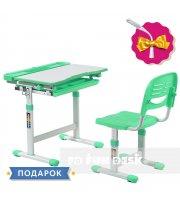 Детская парта со стульчиком FunDesk Cantare Green