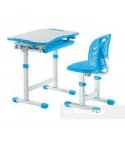 Комплект парта + стул трансформеры Piccolino III Blue FunDesk