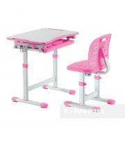 Комплект парта + стул трансформеры Piccolino III Pink FunDesk