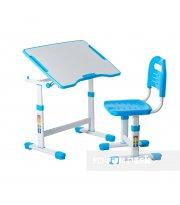 Комплект парта и стул-трансформеры FunDesk Sole II Blue