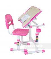 Растущая парта для девочки FunDesk Piccolino II Pink