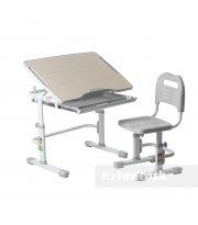 Комплект парта + стул трансформеры Vivo Grey FUNDESK