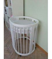Овальная кроватка - трансформер IngVart SMART BED Oval