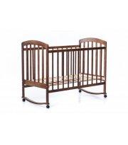 Детская кроватка LAMA б/ящ, лазурь тонир.