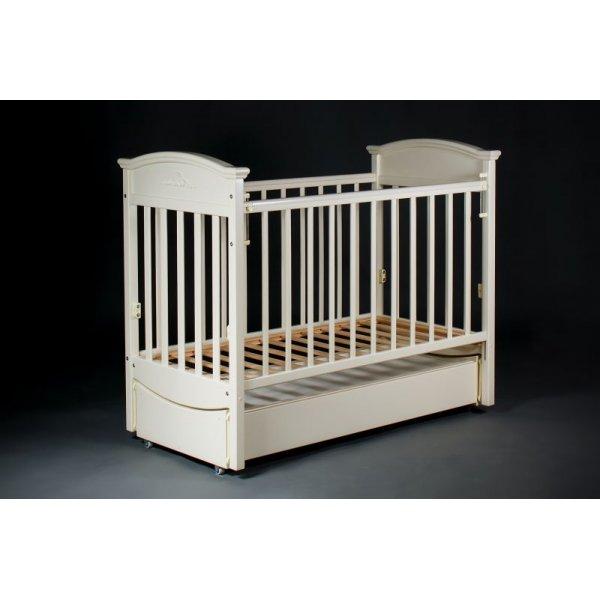 Кроватка детская Наполеон VIP ваниль