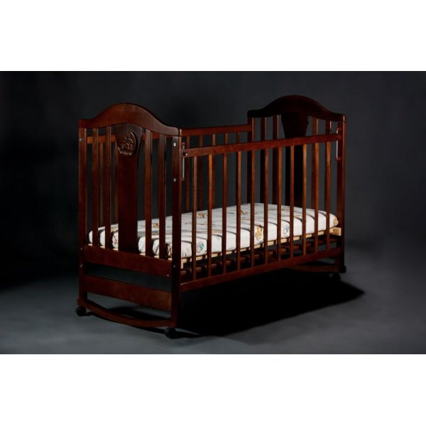 Кроватка детская Наполеон NEW без ящика орех