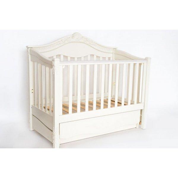 Кровать VICTORIA mini 120*60, белая