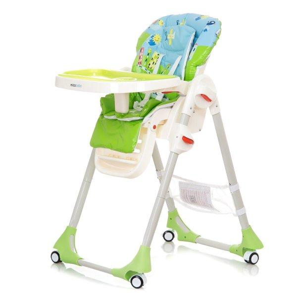 Детский стульчик для кормления Mioobaby RIO, green