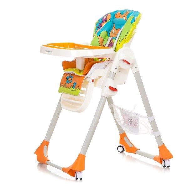 Детский стульчик для кормления Mioobaby RIO, orange