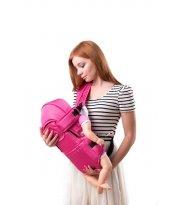 Кенгуру Умка №8 с капюшоном розовый
