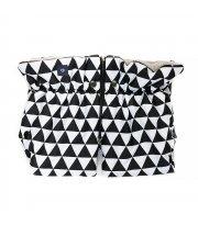Муфта Womar (Zaffiro) MUF 2in1 geo black&white limited (черно-белый ромб)