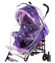 Дождевик для прогулочной коляски Qvatro DQS-2 силикон, маленький