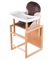 Стульчик- трансформер For Kids Бук-02 светлый пластиковая столешница шоколад