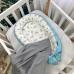 Кокон Baby Design Baby серо-голубой