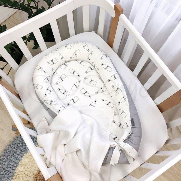 Кокон Baby Design Молоко