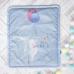 Плед-конверт Арт дизайн Зайка с шариками