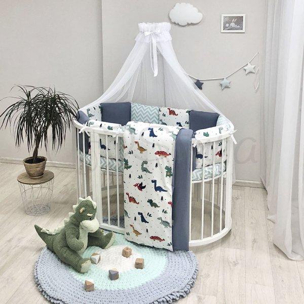 Комплект Baby Design Dino синий